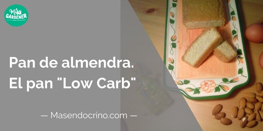Pan De Almendra Low Carb