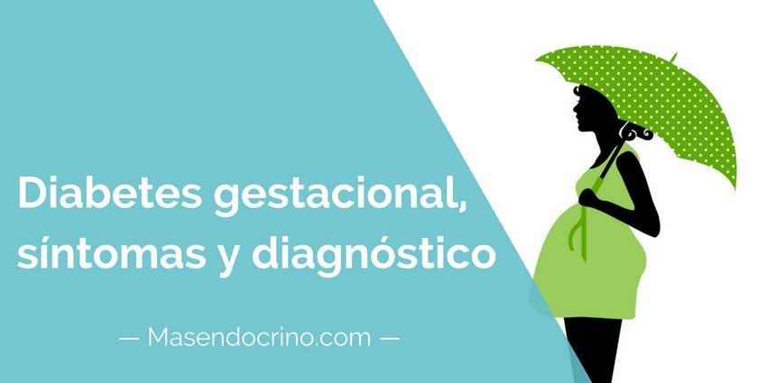 Diabetes Gestacional Síntomas